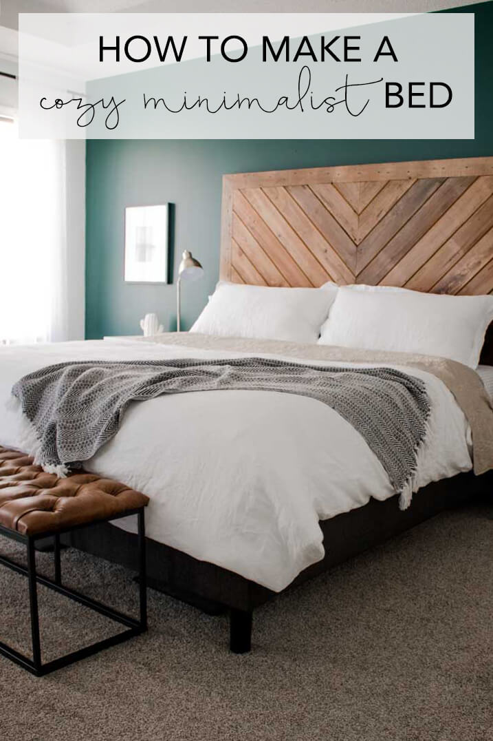 How To Make A Cozy Minimalist Bed My Breezy Room