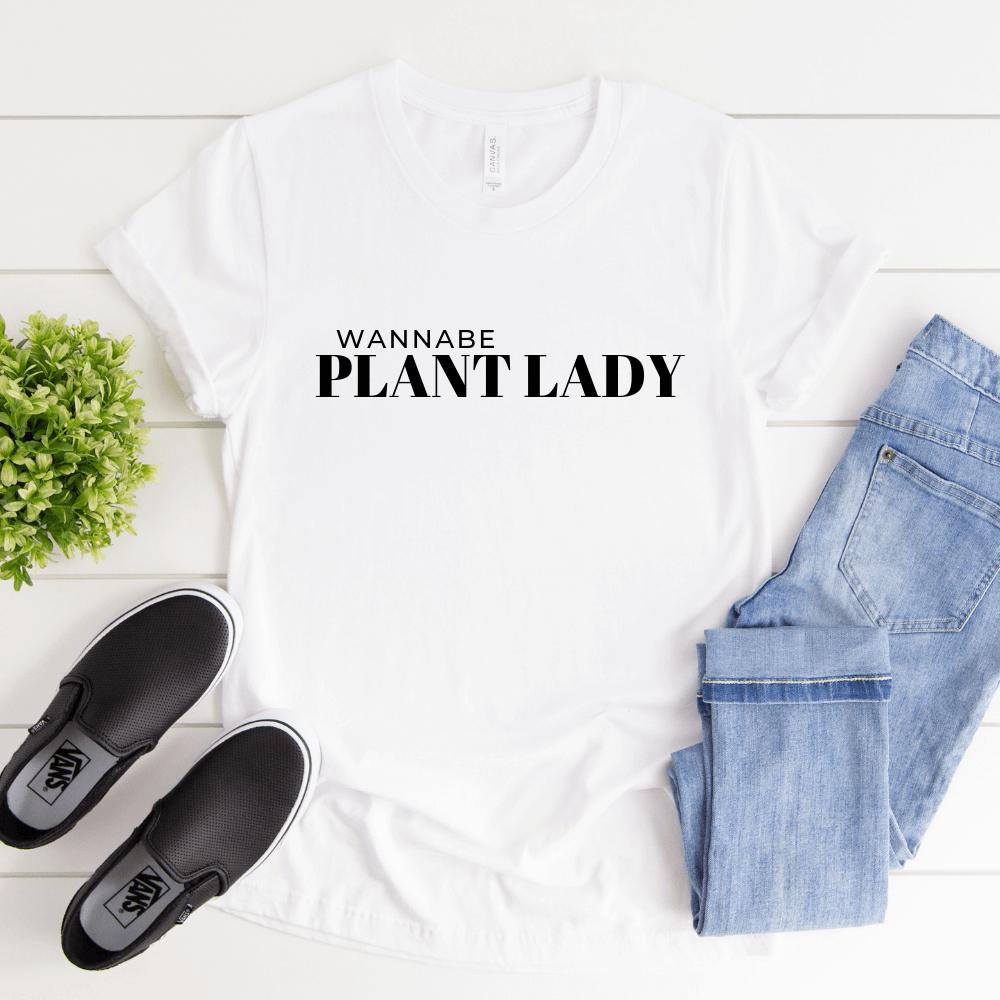 Wannabe Plant Lady Tee