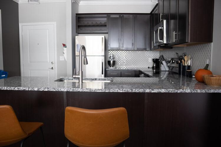 Apartment tour - kitchen
