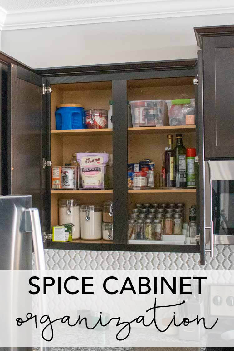 Tips for space cabinet organization
