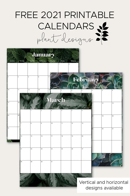 2021 Printable Calendars   My Breezy Room